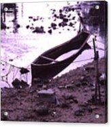 Okinawa Canoe Parking Acrylic Print