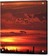 Oklahoma Sky At Daybreak  Acrylic Print