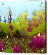 Oklahoma Spring Colors Acrylic Print