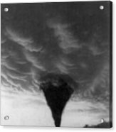 Oklahoma Tornado, C1898 - To License For Professional Use Visit Granger.com Acrylic Print