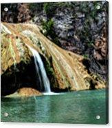Oklahoma's Turner Falls Acrylic Print