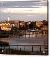 Okracoke Island Nc Sunrise Acrylic Print