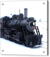 Old 89 Is Passing By Acrylic Print