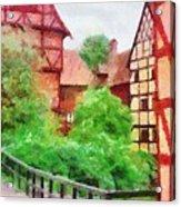 Old Aarhus Acrylic Print