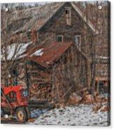 Old Abandoned Farm Homestead Acrylic Print