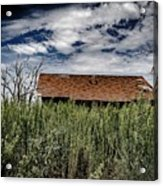 old abandoned house Texico NM Acrylic Print