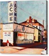 Old Acme Lambertville Nj Acrylic Print