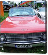 Old American Car Acrylic Print
