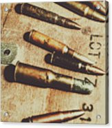 Old Ammunition Acrylic Print