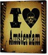 Old Amsterdam Acrylic Print