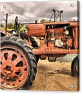 Old And Rusty Acrylic Print