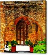 Old Archway  Acrylic Print
