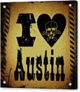 Old Austin Acrylic Print