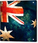 Old Australian Flag Acrylic Print