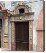 Old Austrian Door Acrylic Print