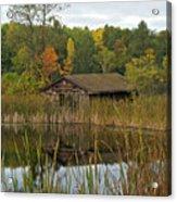 Old Bait Shop On Twin Lake_9626 Acrylic Print