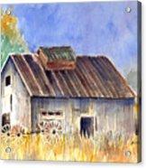 Old Barn Acrylic Print