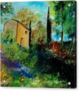 Old Barn In Provence  Acrylic Print