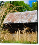 Old Barn In Roxborough Acrylic Print