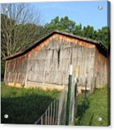 Old Barn In Tennessee Acrylic Print