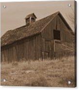 Old Barn In Washington Acrylic Print