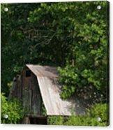 Old Barn. Acrylic Print