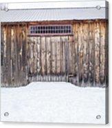Old Barn Musterfield Farm Acrylic Print