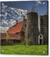 Old Barn Near Sedalia Mo Dsc01900 Acrylic Print