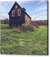 Old Barn Out In A Field Acrylic Print