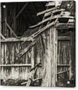 Old Barn Ruin 3 Acrylic Print
