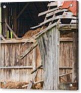Old Barn Ruin  Acrylic Print