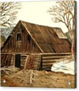 Old Barn Series 1 Acrylic Print