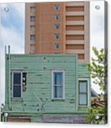 Old Before New High Rise Acrylic Print