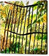 Old  Bent Gate Acrylic Print