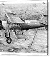 Old Bi Plane Acrylic Print