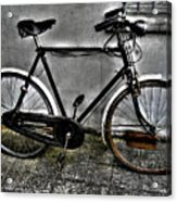 Old Bicycle Acrylic Print
