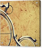 Old Bicycle-part Two Acrylic Print