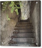 Old Bisbee Stairway Acrylic Print