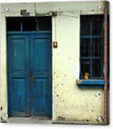 Old Blue Door Acrylic Print