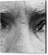 Old Blue Eyes Acrylic Print