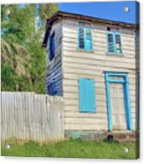 Old Board House Acrylic Print