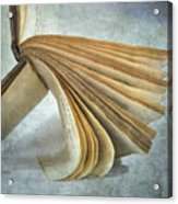 Old Book Acrylic Print