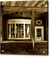 Old Book Shop Acrylic Print