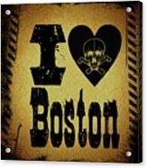 Old Boston Acrylic Print