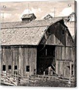 Old Boulder County Colorado Barn Acrylic Print