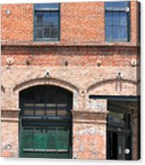 Old Brick Building Acrylic Print
