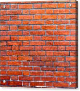 Old Brick Wall Acrylic Print