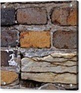 Old Bricks Acrylic Print