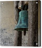 Old Bronze Bell Acrylic Print