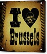 Old Brussels Acrylic Print